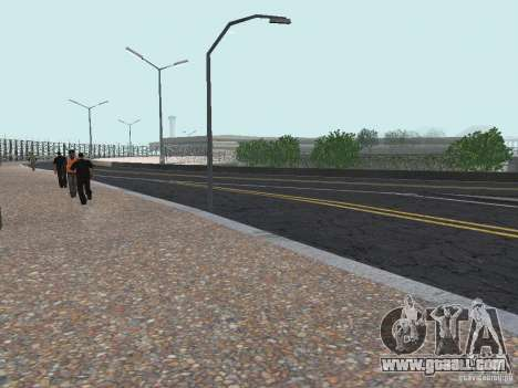 New Airport San Fierro for GTA San Andreas third screenshot