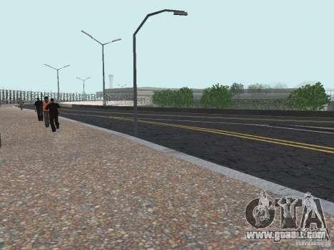 New Airport San Fierro for GTA San Andreas third screenshot
