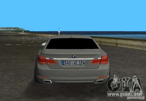 BMW 750 Li for GTA Vice City right view