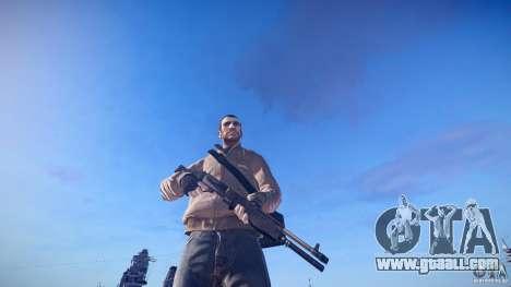 New shotgun for GTA 4