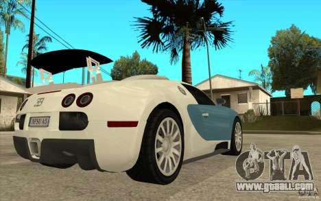 Spoiler for the Bugatti Veyron Final for GTA San Andreas forth screenshot