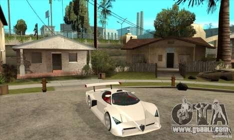 Alfa Romeo Tipo 33 GTI for GTA San Andreas back view
