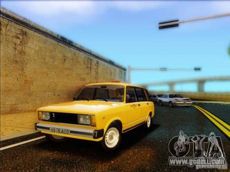 VAZ 2104 Taxi for GTA San Andreas