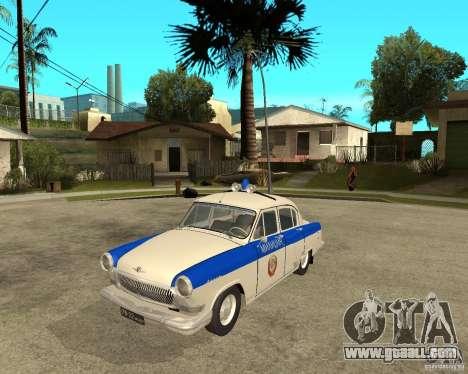 Gaz-21r GAI for GTA San Andreas