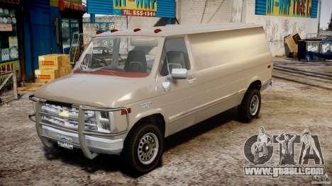 Chevrolet G20 Vans V1.1 for GTA 4