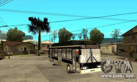 LIAZ 5256 for GTA San Andreas back view