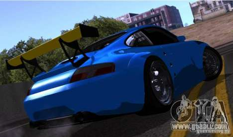 Porsche 911 GT3  RWB for GTA San Andreas inner view