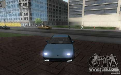 Nissan 200SX 1.8 Turbo 1990 for GTA San Andreas back left view