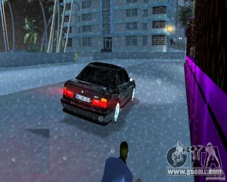 BMW M5 E34 1990 for GTA Vice City back left view