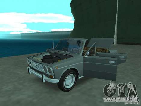 VAZ 2103 Cabrio for GTA San Andreas back view