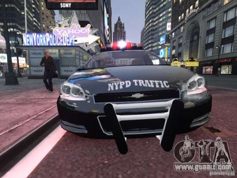 Chevrolet Impala 2006 NYPD Traffic for GTA 4 left view