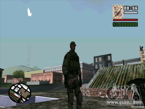 Dave from Resident Evil for GTA San Andreas forth screenshot