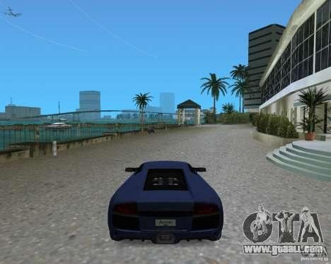 Lamborghini Murcielago LP640 for GTA Vice City back left view