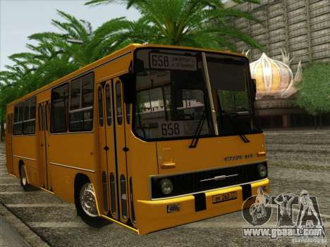 IKARUS 260 for GTA San Andreas back view