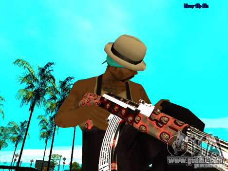 Trollface weapons pack for GTA San Andreas forth screenshot