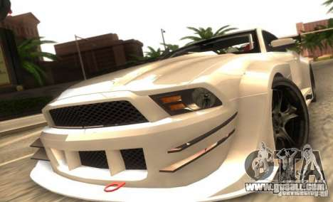 Ford Mustang Shelby GT500 V1.0 for GTA San Andreas left view