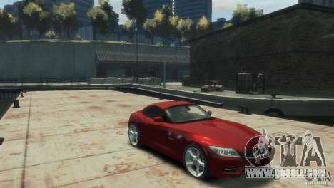 BMW Z4 for GTA 4 right view