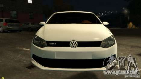 Volkswagen Polo v1.0 for GTA 4 inner view