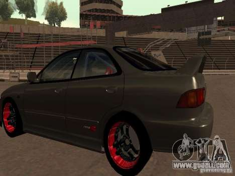 Honda Integra TypeR for GTA San Andreas right view