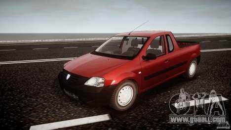 Dacia Logan Pick-up ELIA tuned for GTA 4