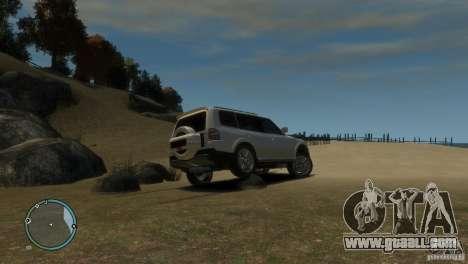 Mitsubishi Pajero Wagon for GTA 4 side view