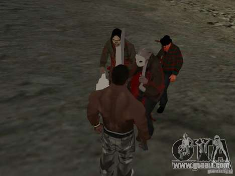 Scary Town Killers for GTA San Andreas