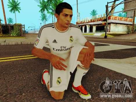 Cristiano Ronaldo v1 for GTA San Andreas fifth screenshot