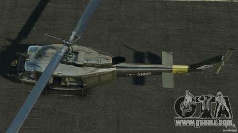 Bell UH-1 Iroquois for GTA 4 right view