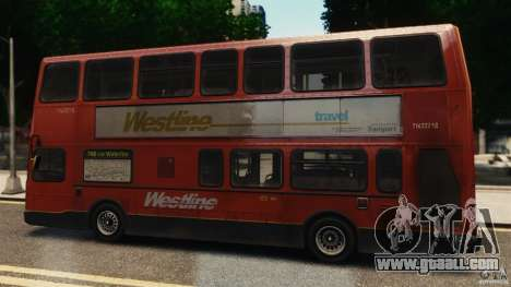 London City Bus for GTA 4 left view