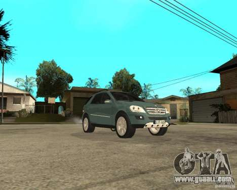 Mercedes-Benz ML 500 for GTA San Andreas back view