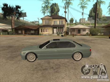 BMW E38 M7 for GTA San Andreas left view