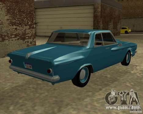 Plymouth Savoy 1962 for GTA San Andreas left view