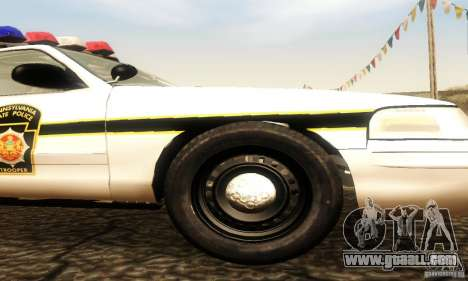 Ford Crown Victoria Pennsylvania Police for GTA San Andreas right view