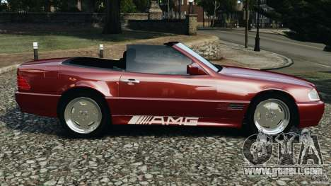 Mercedes-Benz SL 500 AMG 1995 [Final] for GTA 4 left view