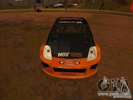 Nissan 350Z NOS Energy Drink for GTA San Andreas back left view
