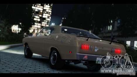Dodge Demon 1971 for GTA 4 back view