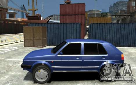 Volkswagen Golf II Country 1990 for GTA 4 left view