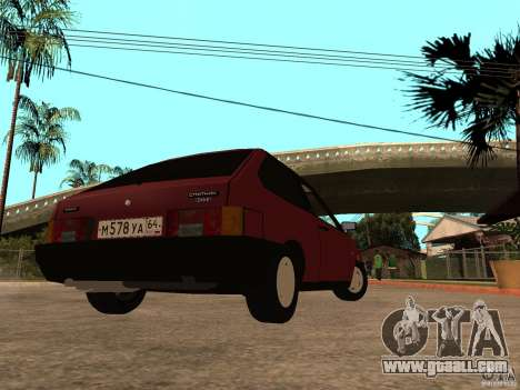 VAZ 2108 Drain for GTA San Andreas back left view