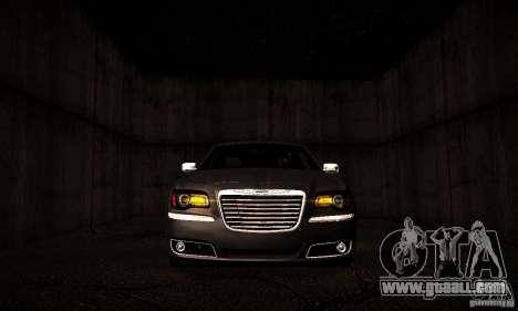 Chrysler 300c for GTA San Andreas inner view