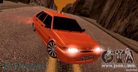 Ваз 2114 Juicy Orange for GTA San Andreas