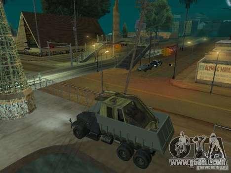 KrAZ-256b1-030 for GTA San Andreas back left view
