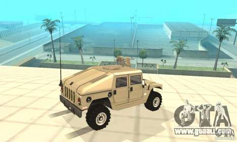 Hummer H1 for GTA San Andreas side view