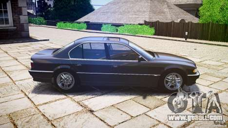 BMW 740i (E38) style 37 for GTA 4 left view