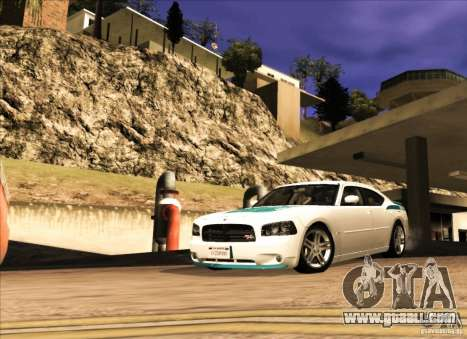 Dodge Charger R/T Daytona for GTA San Andreas left view