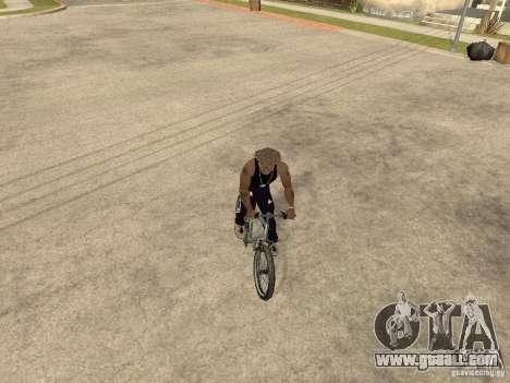Hide-get weapons in the car for GTA San Andreas sixth screenshot