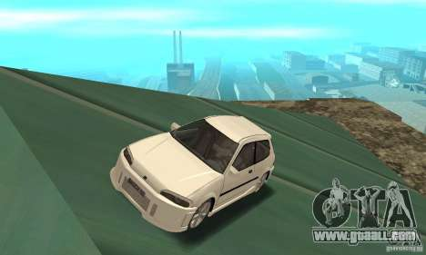 Honda Civic SiR II Tuning for GTA San Andreas