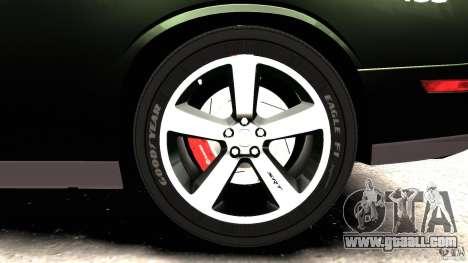 Dodge Challenger SRT8 392 2012 Police [ELS][EPM] for GTA 4 interior
