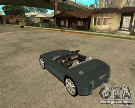 Ford Cobra Concept for GTA San Andreas left view