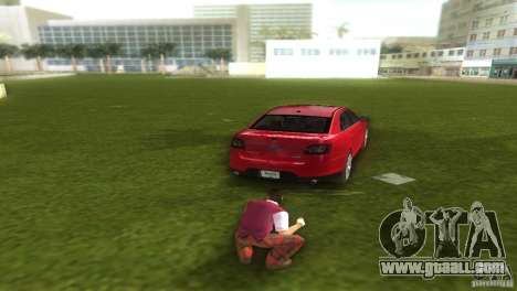 Ford Taurus for GTA Vice City left view