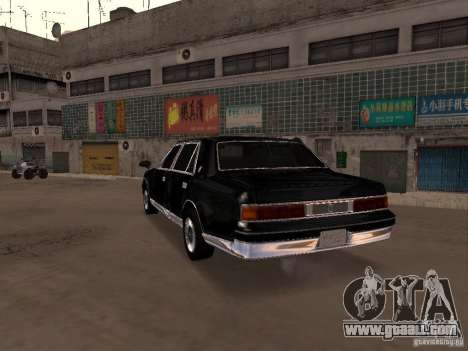 Toyota Century for GTA San Andreas left view